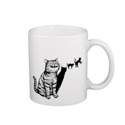 Kočka - hrneček