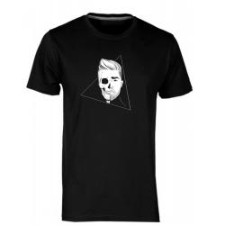 Lebka - pánské černé tričko