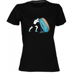 Crossfit 2 - dámské černé tričko