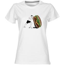 Crossfit 3 - dámské bílé tričko