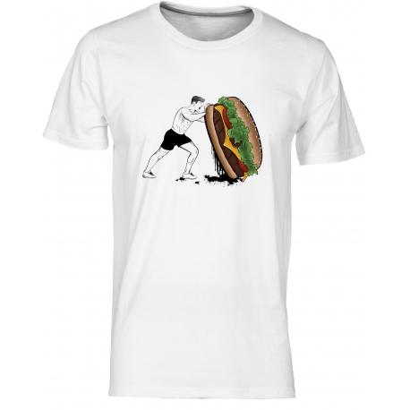 Crossfit 3 - pánské bílé tričko