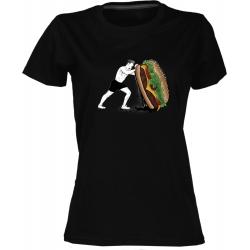 Crossfit 3 - dámské černé tričko