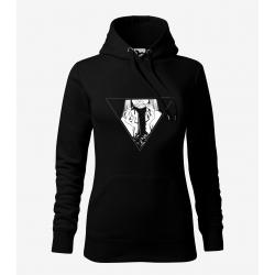 Hory - dámská černá mikina