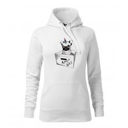 Unicorn - dámská bílá mikina
