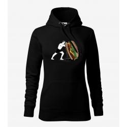 Crossfit 3 - dámská černá mikina
