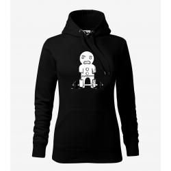 Perníček - dámské černá mikina
