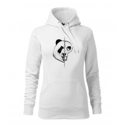 Panda - dámská bílá mikina