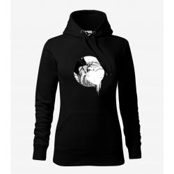 Husky - dámská černá mikina