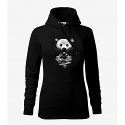 Medvěd - dámská černá mikina