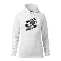 Hipster 2 - dámská bílá mikina