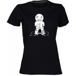 Perníček - dámské černé tričko