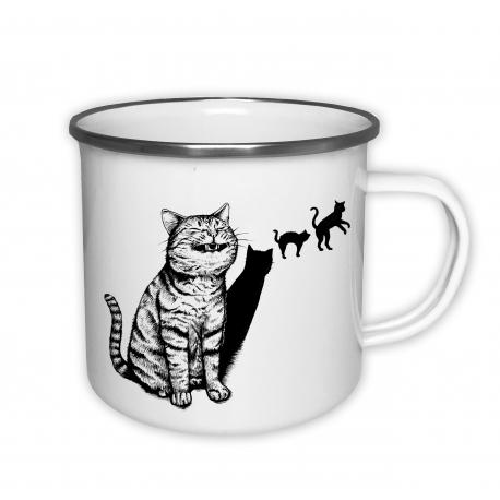 Kočka - plecháček