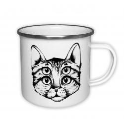 Šílená kočka - plecháček