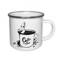Coffe time - plecháček